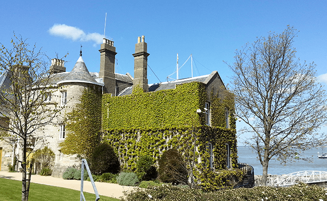 The Royal Yacht Squadron Building, Cowes